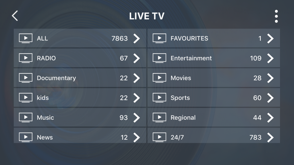 How to watch Live TV on the UKTV IPTV smarters app.